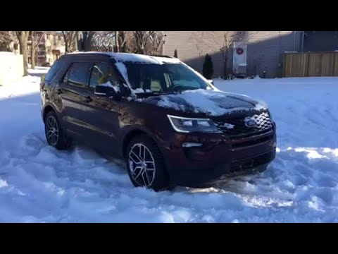 2019 Ford Explorer Sport | Waterloo Ford Lincoln