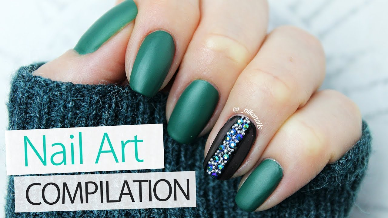 Nail Designs For Winter 2018 - Nail Ftempo