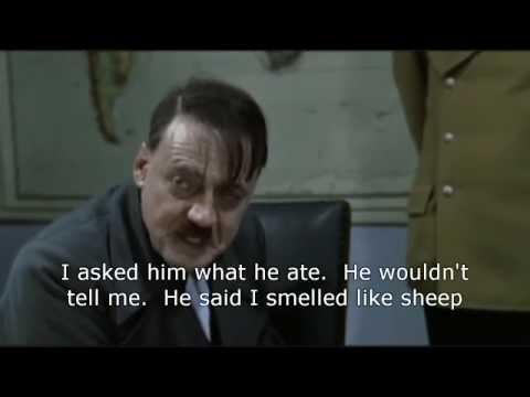 Hitler discovers fruitarians.  Best high carb vegan Hitler parody.