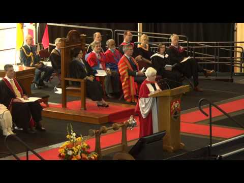University of New Brunswick 2015 Encaenia Ceremony A