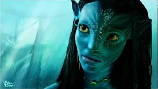 Avatar Speed Painting - Neytiri   _ 來自網路影片。