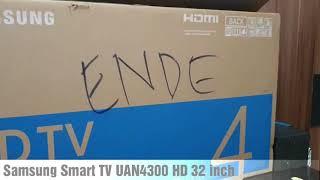 Samsung Smart TV Uan4300 HD 32 inch