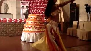 Торт-муляж с танцовщицей от компании «Империя Шоу», г. Москва +7 (495) 6-629-630(, 2014-04-21T14:45:06.000Z)