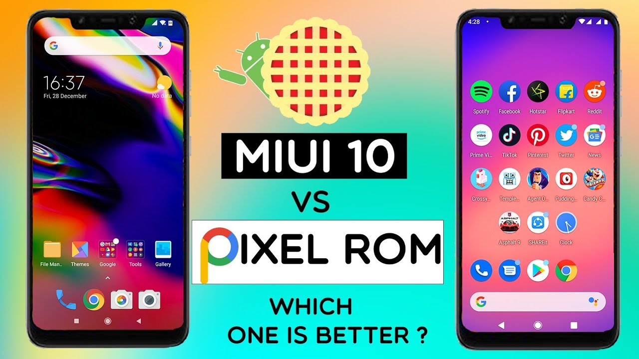 Pocophone F1 - MIUI 10 vs Pixel Experience | Android 9 0 Pie | Which One  Performs Better ?