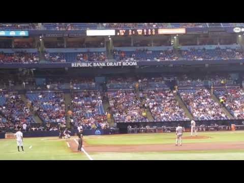 Logan Forsythe Homerun against Yankees.