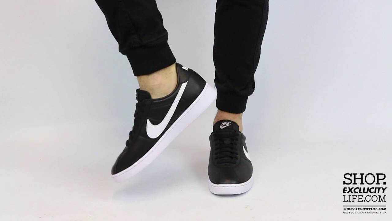 low priced 5712b 8ab52 Nike Bruin QS Black White On feet Video at Exclucity