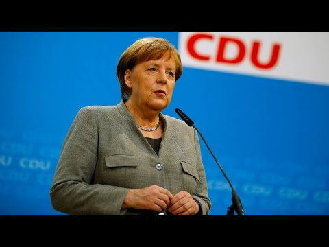 """Angela Merkel: """"SPD-Entscheidung macht den Weg frei"""""""