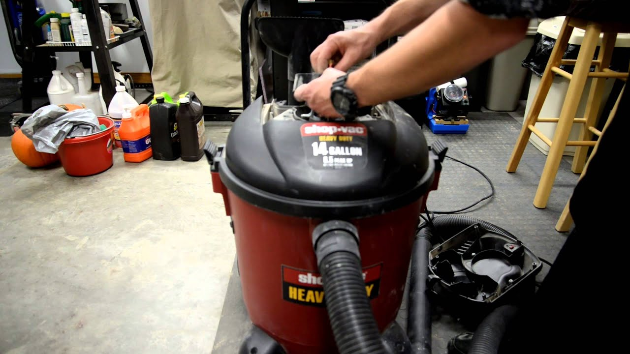 Thermal Protector Wiring Diagram Shop Vac How To Diy Improve It Youtube