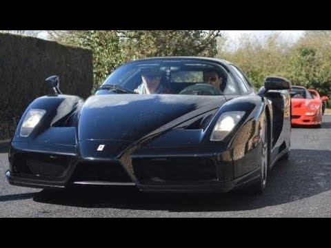 Top Cars:  DK Engineering Open Day 2014: Zonda F, F50 x2, Enzo (FLAMES, accelerations, revs+more)