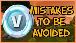 5 Mistakes To Avoid When Farming V-Bucks In Fortnite Save The World