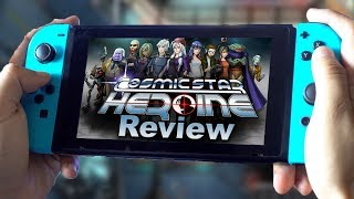 Cosmic Star Heroine REVIEW | Nintendo Switch, PS4, Vita, PC (Video Game Video Review)