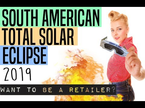 2019 South American Solar Eclipse Glasses (RETAIL)