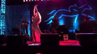 Thievery Corporation and Nathalie Belly Dance Superstar at Del Mar Summer Concert 2015.