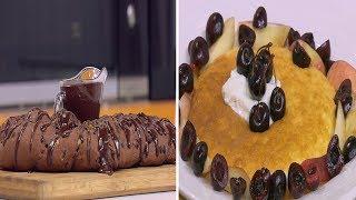 خبز ضفيرة الشوكولاتة - بان كيك السوفليه | زي السكر حلقة كاملة