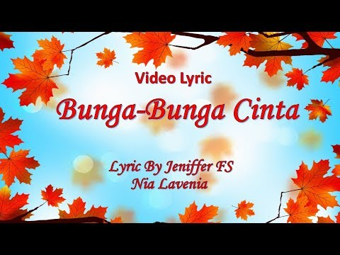 Lavenia - Bunga Bunga Cinta (Lyric Video)