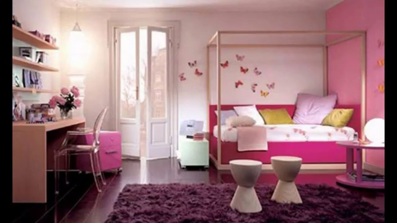 Beautiful bedroom color ideas for women youtube for Beautiful room design for girl