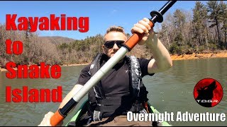 Kayaking to Snake Island - Hennessy Hammock Overnight Adventure