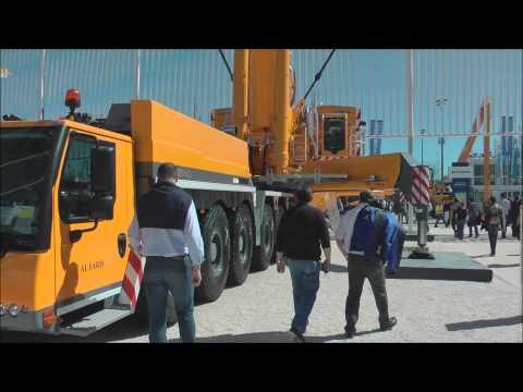 Massive Liebherr 750 ton lift capacity mobile crane