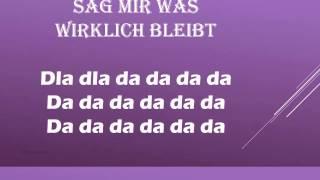 Was Wirklich bleibt lyrics - Christine Stürmer -