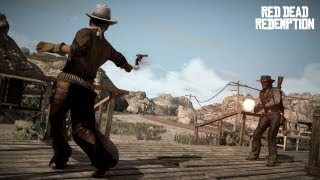 Red Dead Redemption - Lights, Camera, Action - Duel | Gameplay Walkthrough