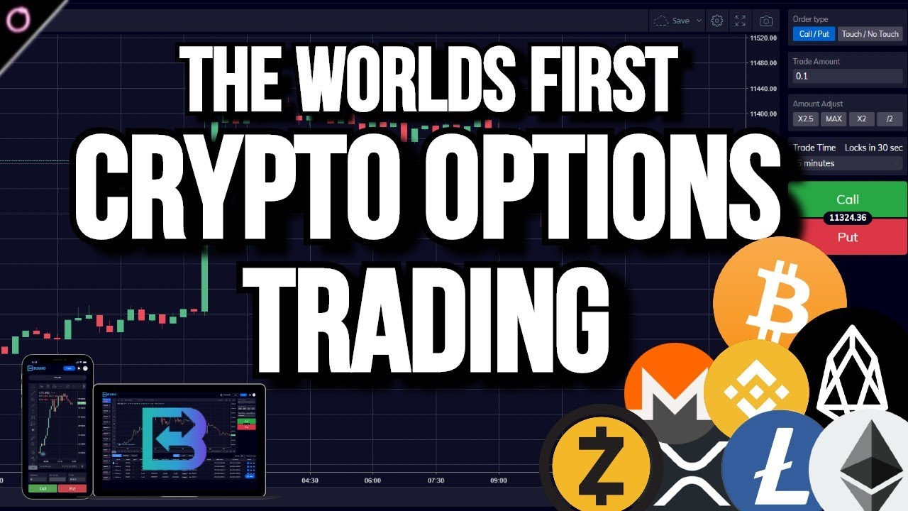 The Most IMPRESSIVE and FIRST Crypto Options Trading Platform