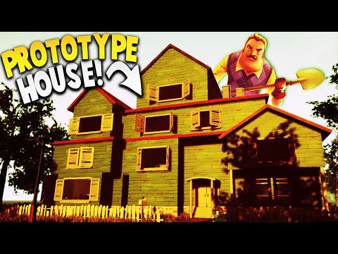 THIS HELLO NEIGHBOR PROTOTYPE HOUSE WAS NEVER MEANT TO BE PLAYED... | Hello Neighbor Beta 3 Mod thumbnail