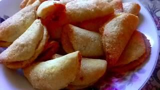 Творожное печенье с яблоком. Очень вкусный и лёгкий рецепт.