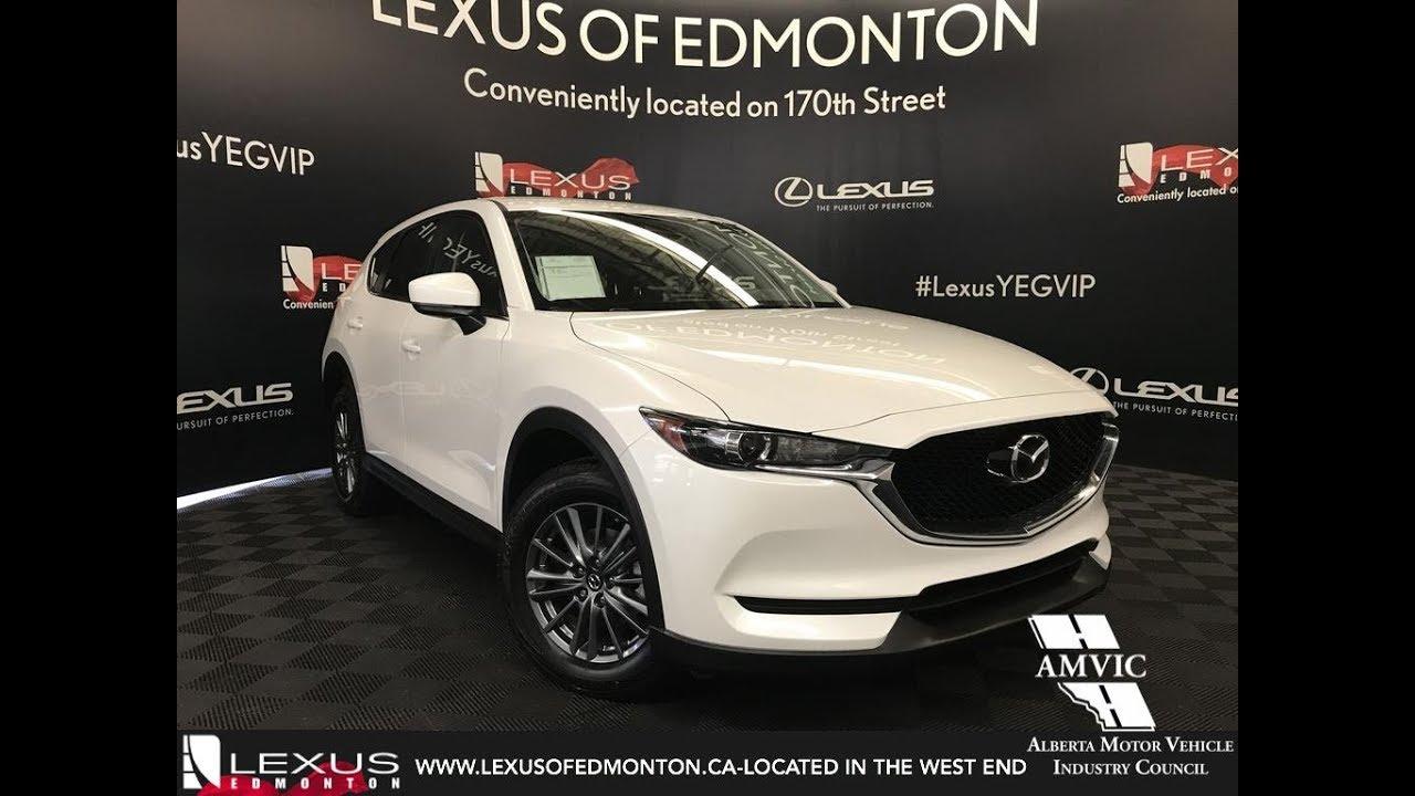 Used White 2017 Mazda Cx 5 Walkaround Review Fort Saskatchewan Alberta