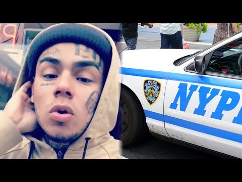 6ix9ine Released from Jail on $25K bail and Says C0ps Gave Him The Beats