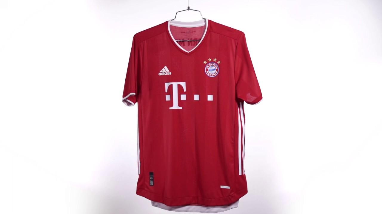 Fc Bayern Munich 2020 2021 Home Jersey Unboxing Video Youtube
