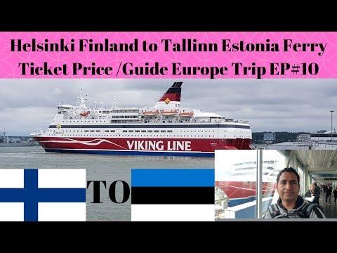 Helsinki Finland to Tallinn Estonia Ferry Ticket Price