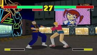 Fighting Eyes [ファイティングアイズ] Game Sample - Playstation