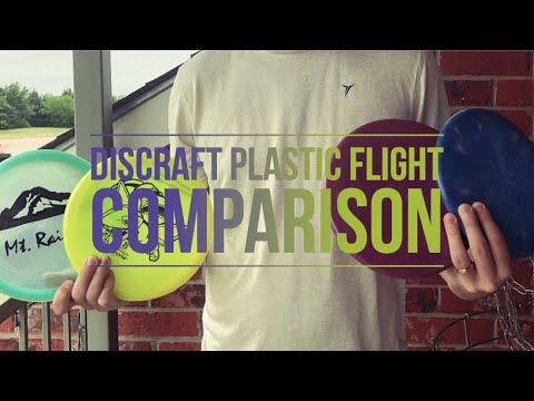 Discraft Drone   Plastic Flight Comparisons   Disc Golf