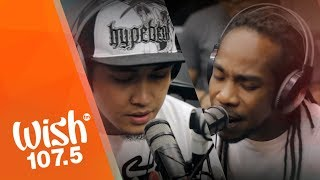 Chocolate Factory feat Sinio performs Pag asa LIVE on Wish 107 5 Bus