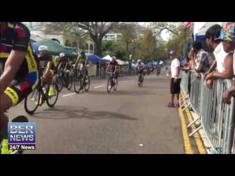 Bermuda Day Cycling Race Finish, May 24 2016