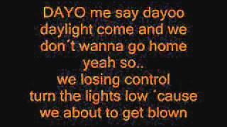 Jason Derulo Don't wanna go home lyrics