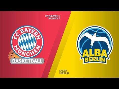 FC Bayern Munich - ALBA Berlin Highlights | Turkish Airlines EuroLeague, RS Round 24
