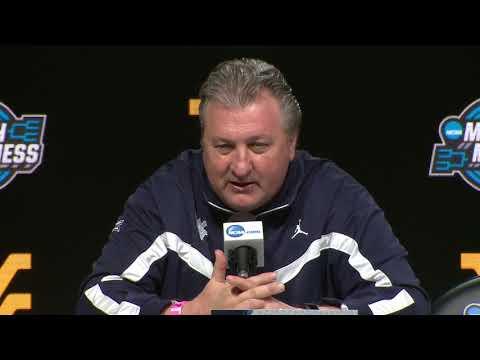 West Virginia Pre-Game Press Conference - Villanova NCAA Tournament