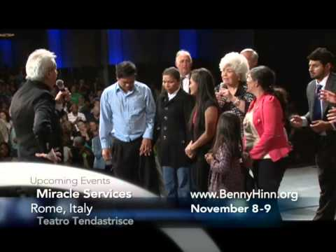 Benny Hinn - Charlotte Worship and Miracles, Part 1