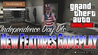 Gta 5 Online   Independence Day DLC 1.15, New Monster truck, New Clothing, New Weapons, Fireworks