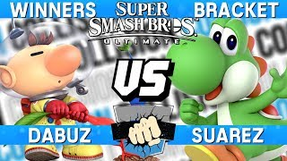 Smash Ultimate Tournament Set - Dabuz (Olimar) vs Suarez (Yoshi) - Collision 2019