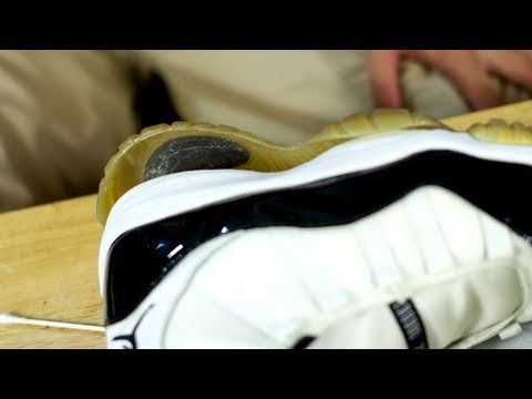 c128ac92dff0c9 Fixing Sole Separation on Air Jordan 11 Concords - YouTube