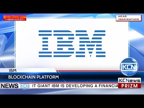 KCN IBM creates a blockchain platform for Europe's largest banks