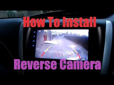 How to install a reverse camera EASY INSTALL (XTRONS) Xtron Installation Backup Camera Wiring Diagram on