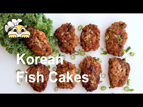 Fish Cakes - Easy Gluten Free Korean Fish Cakes (Eomuk:어묵)