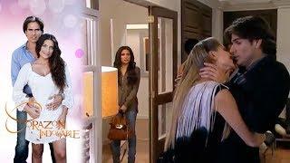 Maricruz encuentra a Octavio con Doris | Corazón indomable - Televisa