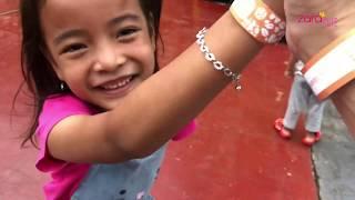 Zara Cute belajar Panjat Tebing di Scientia Park   Wisata Arena bermain Anak di Tangerang Selatan