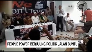 'People Power' dan Strategi Jelang Penetapan Hasil Pemilu