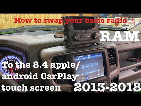 Upgrading/swap The RAM Radio To The 8.4 Inch With Apple/Android CarPlay (step By Step)1500 2500 3500