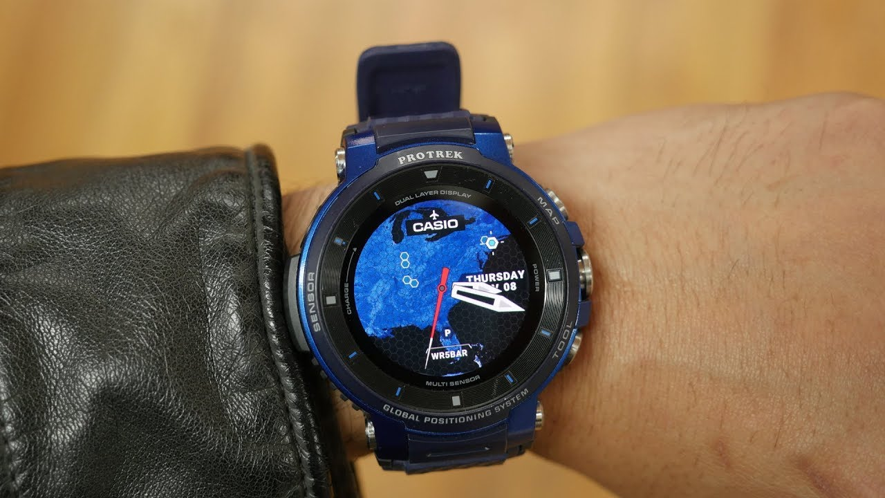 6549c68e5b3f Casio WSD-F30 PRO Trek Smart hands-on  New improvements for the outdoor  enthusiast